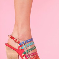 Thora Platform  in  Clothes at Nasty Gal