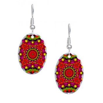 Tribal Mandala 6 Earring