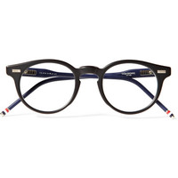 Thom Browne - Round-Frame Acetate Optical Glasses | MR PORTER