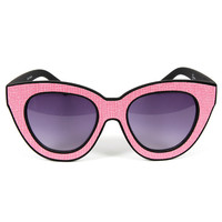 Quay BAT Sunglasses Pink
