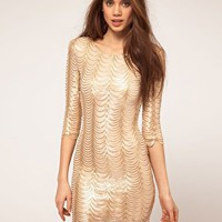 TFNC | TFNC Dress In Scalloped Sequin at ASOS