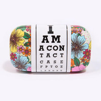 Pop Floral Contact Lens Case