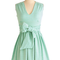Beachfront View Dress in Green | Mod Retro Vintage Dresses | ModCloth.com