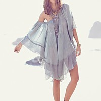 Free People Womens Gauzy Kaftan -