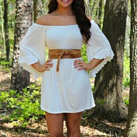 Southern Doll Dress in Ivory