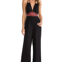 6 SHORE ROAD Before Dawn Jumpsuit in Blackout