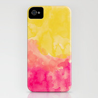 Swimming In Flowers iPhone Case by Galaxy Eyes | Society6