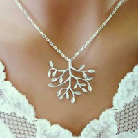 Tree Of Life Necklace Sterling Silver Family Birthday Bridesmaid Gift | Vivian-Feiler-Designs - Jewelry on ArtFire