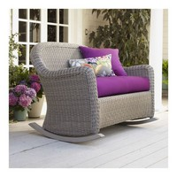 Summerlin Rocking Loveseat with Cushion