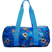 Herschel Packable Duffle Bag in Tropical Print
