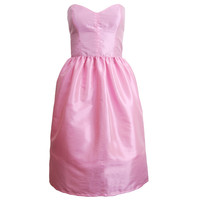 Pink Bell Shape Party Prom Dress | Style Icon`s Closet