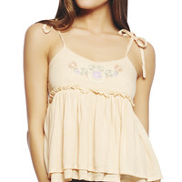 Floral Babydoll Tank | Wet Seal