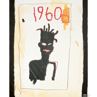 Untitled (1960), 1983 Giclee Print by Jean-Michel Basquiat at Art.com