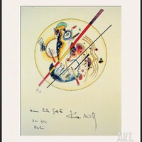 Aquarelle aus Dem, 1922 Framed Art Print by Wassily Kandinsky at Art.com