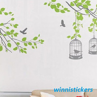Vinyl Wall Decal Nature Design