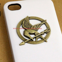 The Hunger Games Logo Mockingjay pendant