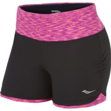 Saucony Women's Ruched LX Short Running Shorts