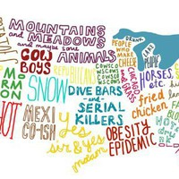 US States Stereotypes Map  Funny, Bizarre, Amazing Pictures &amp; Videos