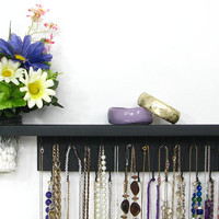 Jewelry Display Organizer with shelf and wall vase