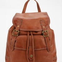 Frye Leather Campus Backpack- Saddle One