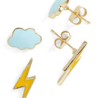 Thunderstud Earrings | Mod Retro Vintage Earrings | ModCloth.com
