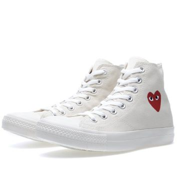 Comme des Garcons Play x Converse All Star Hi