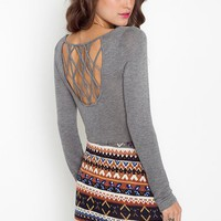 Lattice Knit in  Clothes Tops at Nasty Gal
