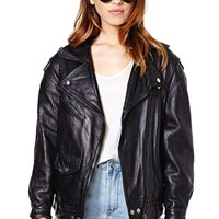 Helluva Ride Leather Moto Jacket