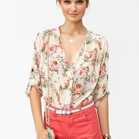 Rose Blossom Blouse  in  What's New at Nasty Gal
