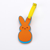 PEEPS & Company : PEEPS BUNNY 3D RUBBER LUGGAGE TAG