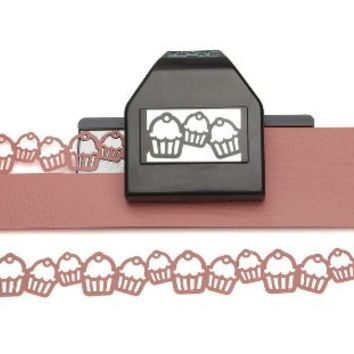 EK Paper Shapers Punch Lg Edger Cupcake Chain