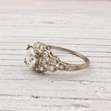 .99 Old European Cut Diamond Engagement Ring | Shop | Erstwhile Jewelry Co.