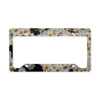flowers4 License Plate Holder