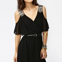 Total Stud Dress - Nasty Gal