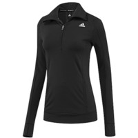 adidas Women's techfit Half Zip Long Sleeve Shirt