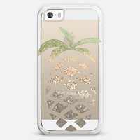 GATSBY PINA COLADA Crystal Clear iPhone case iPhone 5s case by Monika Strigel | Casetagram