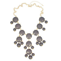 Grey Boheme Necklace