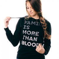 More Than Blood Hoodie