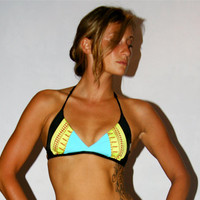 The CHELSEA REVERSIBLE BIKINI top by IMSYSwimwear on Etsy
