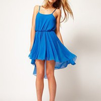 Love | Love Short Dress With Cami Straps at ASOS