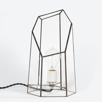 Clear Quartz Lamp | Score + Solder