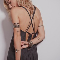 Free People Womens Leah Strappy Dress - C
