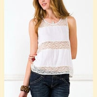 Blissful Lace Tank