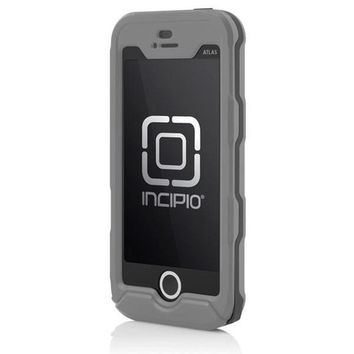 Incipio iPhone 5/5S Atlas ID Case - Dark Grey / Light Grey