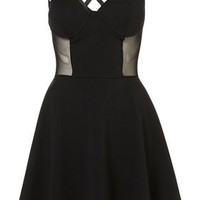 **Bodice Skater Dress by Dress Up Topshop - Going Out - Collections - Topshop USA