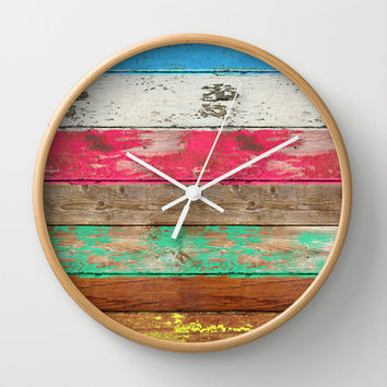 Eco Fashion Wall Clock