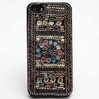 Free People Womens Delhi iPhone5/5s Case - Teal / Silver, iPhone 5/5s