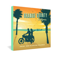 Anderson Design Group Orange County Gallery Wrapped Canvas
