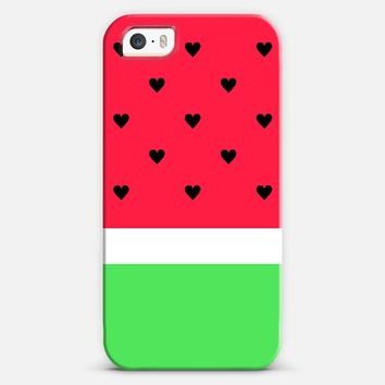 I Love Watermelon! iPhone 5s case by Organic Saturation | Casetagram