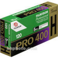 Pro 400H 120 Fujicolor Professional Color Negative (Print) Film (ISO 400) - Pro Pack - 5 Rolls